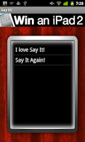 Screenshot of Say It! Text To Talk