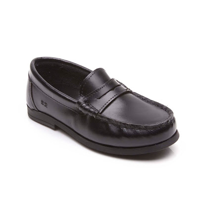 Step2wo Royal 2 - Stylish Slip On BLACK SHINY LEATHER SHOES