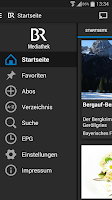Screenshot of BR-Mediathek