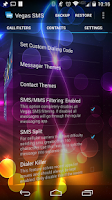 Screenshot of Vegas SMS
