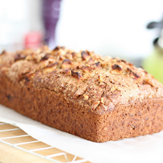 Walnut, Squash, and Apple Bread