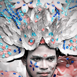 The Carnaval Man by Ludy Ruseny - People Portraits of Men