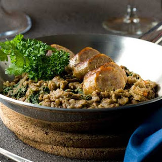 Gluten Free Lentils and Sausage