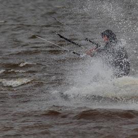 Vandsport ved Bork havn. by Ove Andersen - Sports & Fitness Other Sports