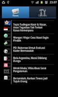 Screenshot of Berita Hangat