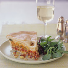 Tomato and Corn Pie
