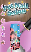 Screenshot of Pets Nail Salon - kids games
