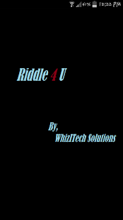 Riddle4U - screenshot