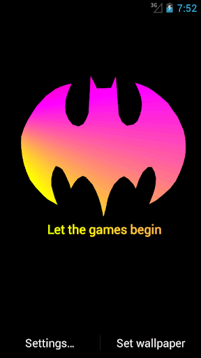 【免費個人化App】Batman Quotes LWP-APP點子