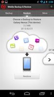 Screenshot of Mobile Backup & Restore