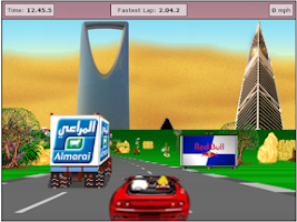 Screenshot of Speed Car Game in Saudi arabia