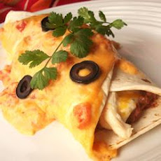 Mild Cheesy Chicken Enchiladas