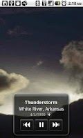 Screenshot of Storm Scapes Lite