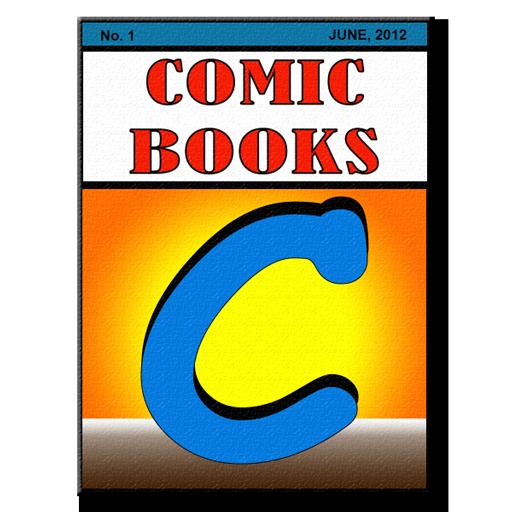 Comic Books Collector LOGO-APP點子