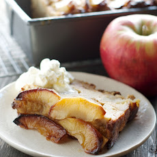Apple + Maple Bread Pudding