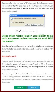 Learn for Reader Tutorial - screenshot