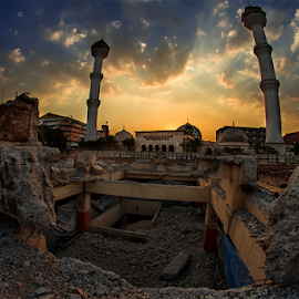 Under Construction by Ferdinandus Rangga - City,  Street & Park  Vistas