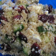 Cranberry and Feta Couscous Salad