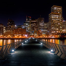 Pier 14 pano by Paul Kelley - City,  Street & Park  Skylines (  )