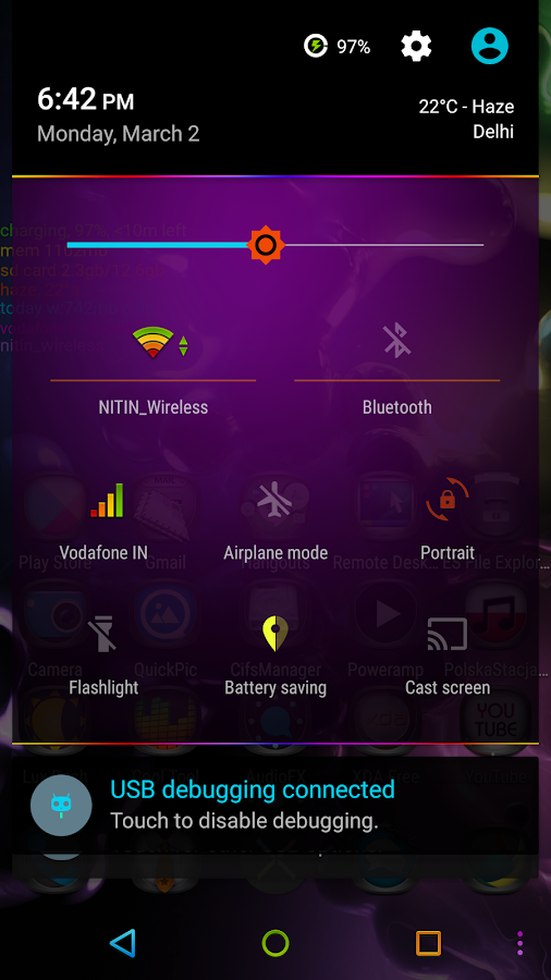 Neon Colors Theme CM 13/12.1 Screenshot 1