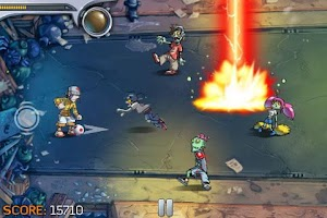 Screenshot of Pro Zombie Soccer