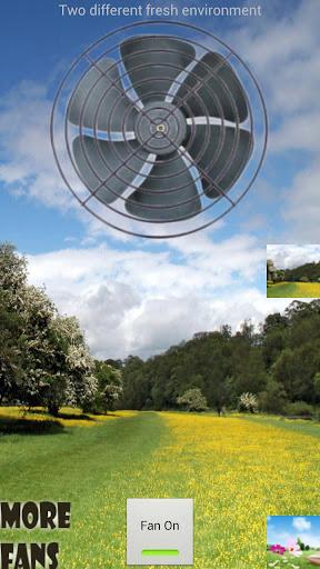 Fresh Air Fan No Wind