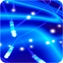 ArteLauncherTheme neon BLUE icon
