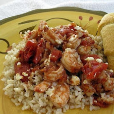 Greek-Spiced Baked Shrimp