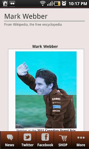 Mark Webber 2012