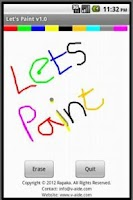 Screenshot of Let's Paint