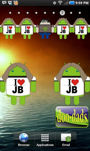 I Love JB doo-dad