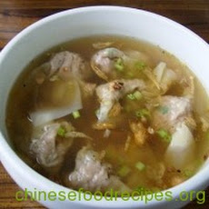 Easy Chinese Wonton Soup