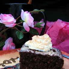 Chocolate Oat Bran Cake (Diabetic)