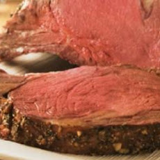 Prime Rib with Roasted Garlic and Horseradish Crust