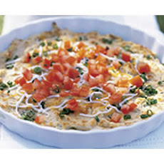 Tomato Topped PHILLY Bean Dip