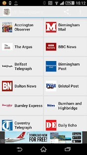 UK Newspapers - screenshot