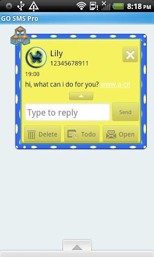 【免費個人化App】GO SMS THEME/It's A Boy1-APP點子