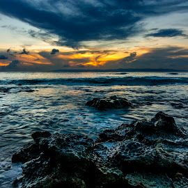 Sunset at Neil Island, Andaman  by Joybrata Chakraborty - Landscapes Waterscapes ( andaman, sunset, india, beach,  )