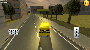 Screenshot of Bus Racing 3D