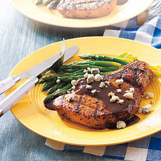 Mustard-Molasses Pork Chops