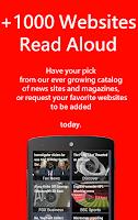Screenshot of Web2go News Reader