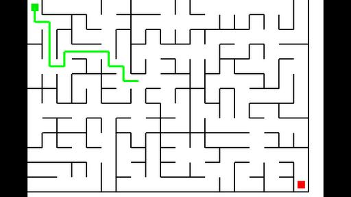 Maze Tracer Demo