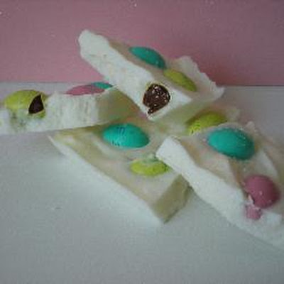 Jelly Bean Chocolate Bark