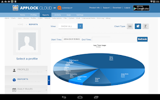 Screenshot of AppLock Cloud