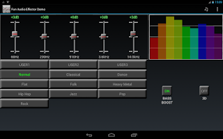 Screenshot of Fun Audio Effector (Demo)