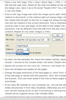 Screenshot of Dreamweaver Tutorials - Lite