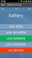 Screenshot of Learn French Flashcards