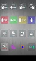 Screenshot of Nice Simple Battery (Widget)