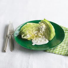 Iceberg Wedges with Gorgonzola Dressing