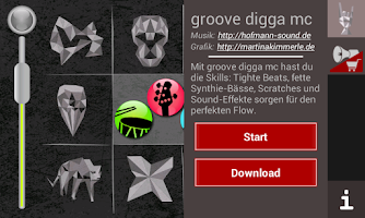 Screenshot of GrooveGrid
